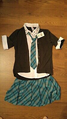 Knitworks Girls Plaid School Outfit Size XL First Day of School Pictures