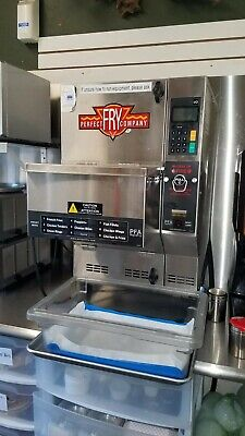 Perfect Fry Deep Fryer Ventless Automatic Countertop Pfa720 Slightly Used