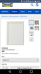 New IKEA picture frame Brighton Bayside Area Preview