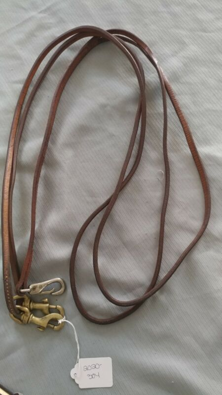 Leather Draw Reins-Used