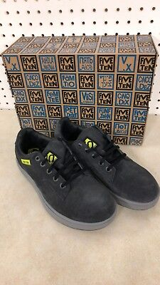 (Five Ten Sleuth Mens cycling bike shoes by Adidas Black/Lime Punch US 7.0 New)