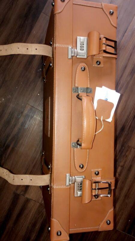 mercedes-benz Vintage Leather Suitcase
