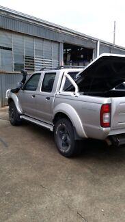 2004 Nissan navara st r 3l Vermont Whitehorse Area Preview