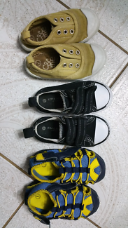 Boys shoes size 5, 6 and 7 $5 each pair
