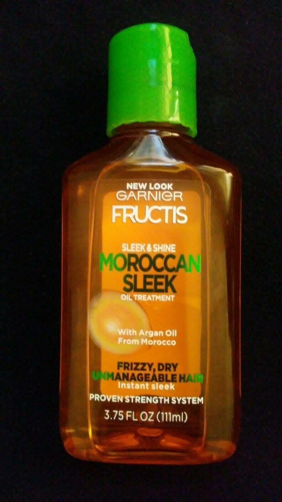 Garnier Fructis Sleek & Shine Moroccan Sleek Oil Treatment,