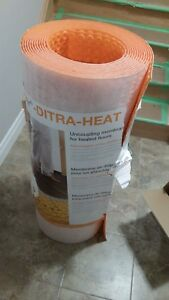 Uncoupling membrane for heated floors
