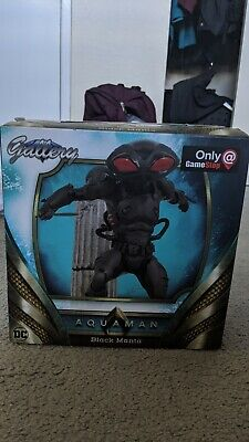 Diamond Select DC MOVIE GALLERY Aquaman BLACK MANTA PVC Statue Figure