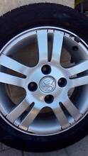 Alloy Wheel & Tyre for Holden, Mazda, Hyundai and Ford Laser Brookdale Armadale Area Preview