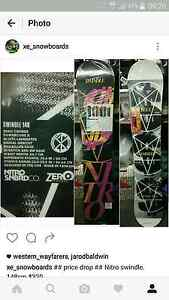 Brand new Nitro swindle 148cm snowboard Lidcombe Auburn Area Preview