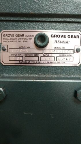 GROVE GEAR U220-3 FLEXALINE WORM SPEED REDUCER