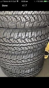 CHEAP BRAND NEW 235/75R15 A/T's Caboolture Caboolture Area Preview