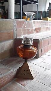 Antique oil lamp Annerley Brisbane South West Preview