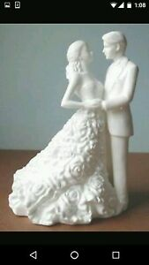 Waterford Monique Lhuillier Modern Love Cake Topper