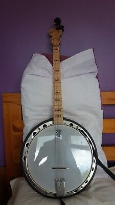 Deering Goodtime Special 'Chieftain' Leader 19 Fret Irish Tenor Banjo - BUNDLE