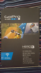 GoPro Hero 3 black edition Kedron Brisbane North East Preview