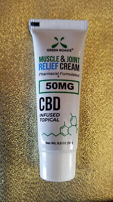 Green Roads On the Go CBD Muscle & Joint Relief Cream-BEST CBD PRODUCT of the YR