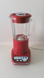 Kitchenaid artisan blender in red