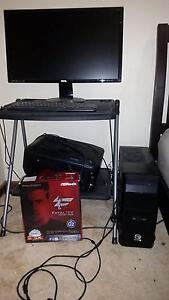 """Gaming Rig W/ 27"""" Monitor etc. - i5 4670K, AsRock Z87 Pro, R7 240 Millicent Wattle Range Area Preview"""