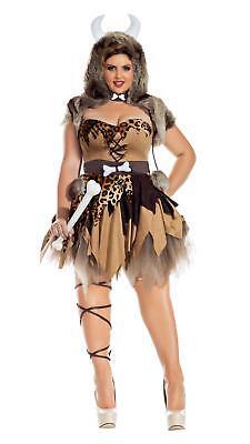 Prehistoric Honey Cavewoman Adult Womens Costume Plus Size NEW Caveman - Cavewoman Costumes