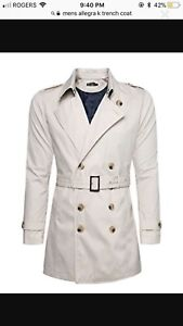 Men's Brand New Spring Dress Coat