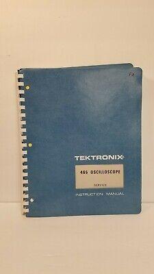 Tektronix 465 Oscilloscope With Options Service Instruction Manual 1972