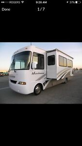 32' MOTORHOME FOR RENT