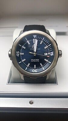 IWC Aquatimer Jacques-Yves Cousteau  2017 IW329005 BOX AND PAPERS