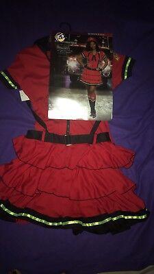 Sexy Firefighter Junior/Women/Girls  Size Size S (4-6) Halloween  Costume NWT (Girl Firefighter Halloween Costume)