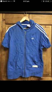 Adidas Hooded Jumper - Size 14.