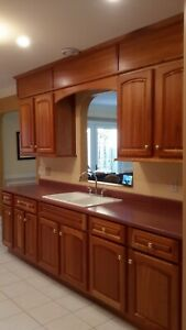 Solid Cherry  Cabinets