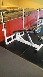 Technogym Olympic Decline Bench Press Leura Blue Mountains Preview