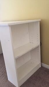 FREE: Small Desk with Shelving