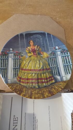 """Gone With the Wind """"Melanie"""" collectors plate by Knowles / Bradford Exchange"""