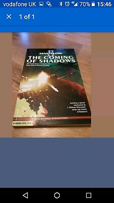 New Babylon 5 Script Book .The coming of shadow by killick Jane paperback 2004