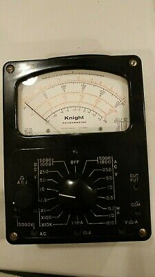 Vintage Antique Knight Radio Voltmeter Ohmmeter