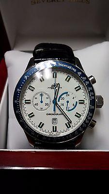 Adee Kaye Men's Chronograph Steel Watch AK1089-M ()