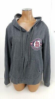 Womens St Louis Cardinals Baseball MLB Jacket Hooded Lightweight Size Medium M