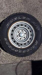 4 Bridgestone Dueler A/T Tyres and rims 245/70 R16 697 Baulkham Hills The Hills District Preview
