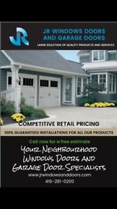 SAVE ON INSULATED GARAGE DOORS !!!