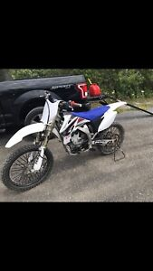Mint condition 2009 yz250f