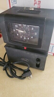 Lathem Model 2121 Heavy Duty Time Clock Recorder - No Key