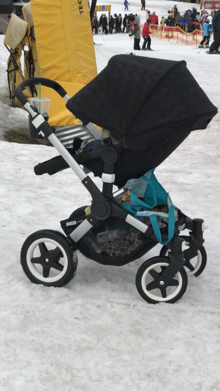 Bugaboo buffalo Stroller And Bassinet With Accesories
