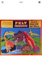 Felt Creations Dinosaurs Brand New Sealed 3+ Years Canning Vale Canning Area Preview