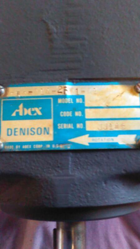 Parker Denison Hydraulic Vane Pump T5C-014-2FO1-A1