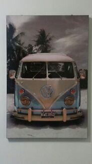 Kombi Van Wall Art Frame Glenfield Campbelltown Area Preview