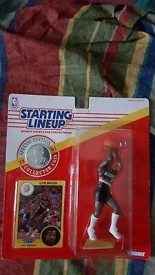 NBA 1991 STARTING LINEUP CLYDE DREXLER PORTLAND TRAIL BLAZERS KENNER