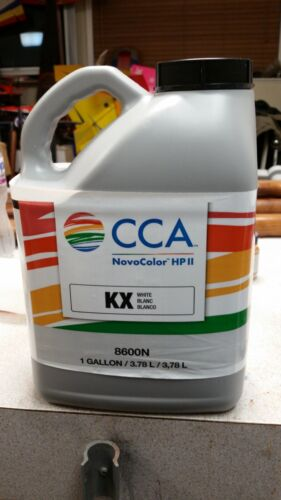 CCA NovoColor HP 2 Paint Tint Colorant 1 Gallon KX White