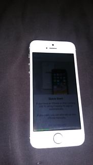 IPhone 5s as new condition and unlocked