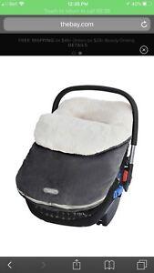 JJ Cole  bundleme for baby car seat cover for winter hivér