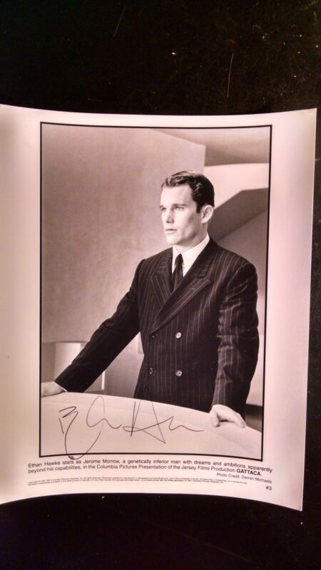 Ethan Hawke signed in person Gattaca 1997 movie photo 14144 autographed new